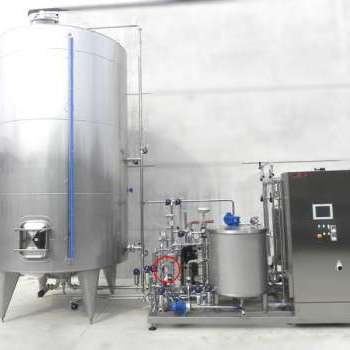 Continuous tartaric stabilization system of 5000 liters per hour